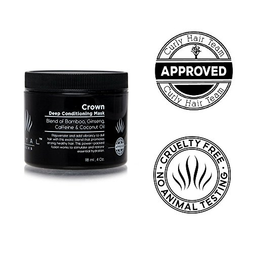 Deep Conditioning Hair Mask Treatment by Royal Locks Repair for Curly, Wavy, Dry, Damaged, Colored Hair for Hydrating Moisture and Conditioning.