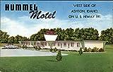 Hummel Motel Ashton, Idaho ID Original Vintage