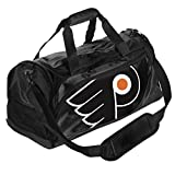 NHL Philadelphia Flyers Locker Room Collection Duffle Bag, Small, Black