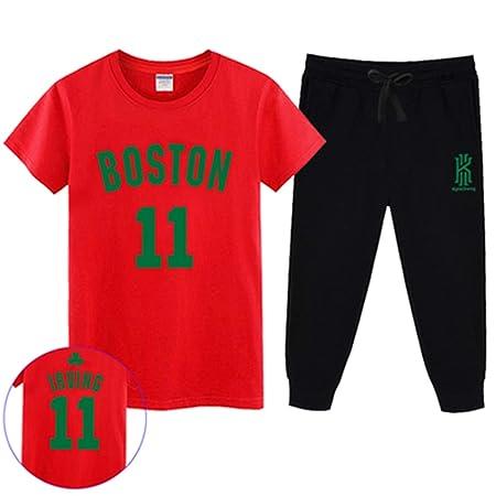 T-SHIRT Conjunto De Camiseta De Fan De La NBA Celts Kyrie ...