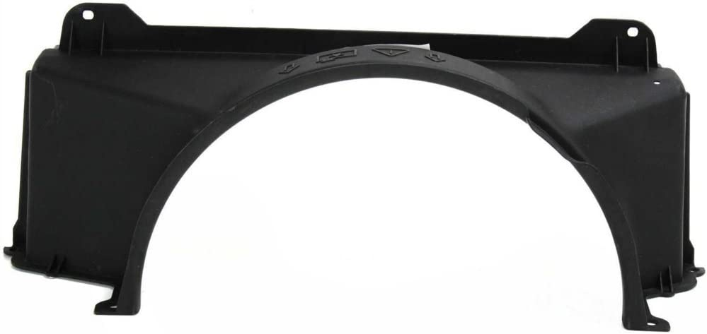 Radiator Fan Shroud compatible with Chevy Silverado 99-04 Upper 4.8L/5.3L