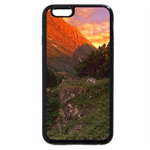 iPhone 6S / iPhone 6 Case (Black) Point Falls National Park, Montana