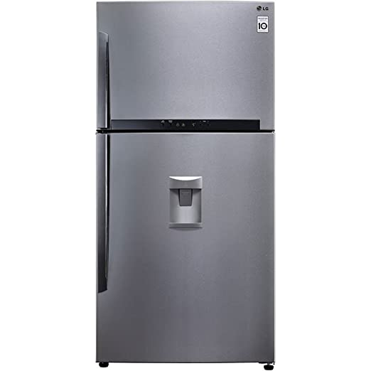 LG GTF925PZPM Independiente 570L A++ Acero inoxidable nevera y congelador - Frigorífico (570 L,