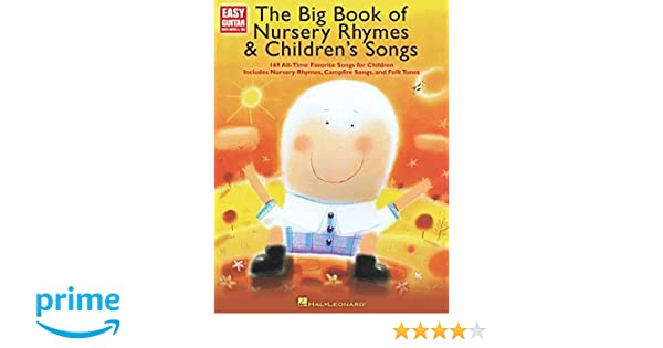 Amazon.com: The Big Book of Nursery Rhymes & Children\'s Songs: Easy ...