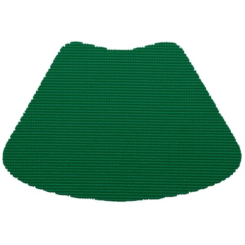 Kraftware 31339 Fishnet Placemat Dz., Wedge, Hunter Green