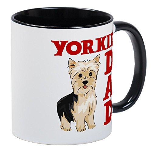 CafePress - YORKIE DAD - Unique Coffee Mug, Coffee Cup