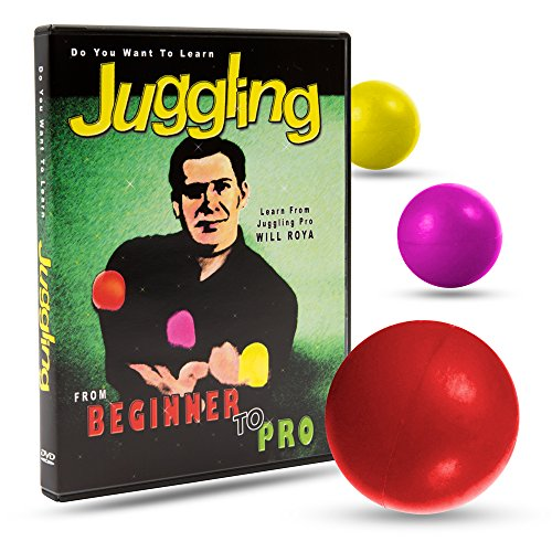 Magic Makers Do You Want to Learn Juggling With Will Roya - Beginner to Pro Instructional Guide