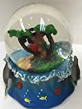 Cheifly Snow Globe Hula Boy and Gril Hawaiian Design