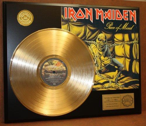 iron-maiden-piece-of-mind-24kt-gold-lp-record-ltd-edition-display
