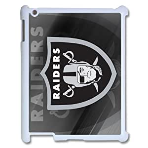 ICASE-MAX Popular Sports Game NFL-Oakland Raiders Logo Design for Apple Ipad 3 Case (white)