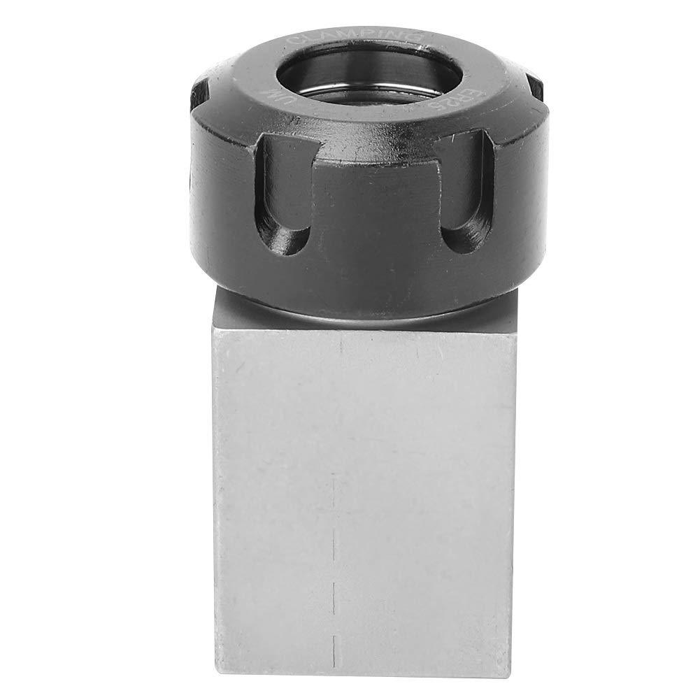 ER25 Collet Block Chuck Collet Holder for Lathe Engraving Machine Size : Hex Collet Block