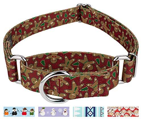 Country Brook Petz | Gingerbread Martingale Dog Collar - Medium