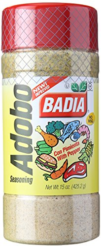 (Badia Adobo with Pepper, 15 oz)