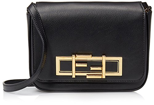 Fendi Women's Shoulder Bag, Black Fendi Black Bag