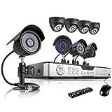 ZMODO 16CH Security Surveillance Camera System 8 Outdoor/Indoor 600TVL Hi-Resolution CCTV Cameras No Hard Drive