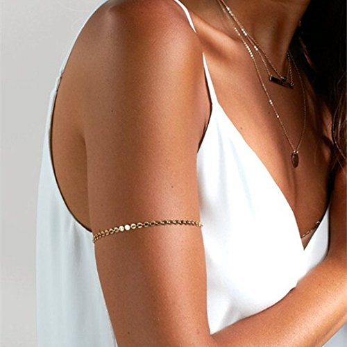 Jovono Upper Arm Armlet Cuff Bracelet for Women and -