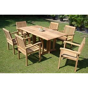518I3xZ%2BTaL._SS300_ Teak Dining Tables & Teak Dining Sets
