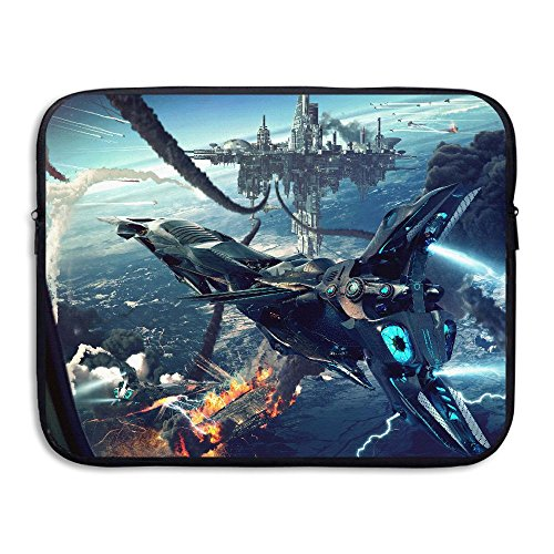 - Space Craft Shuttle Sky Lighting Laptop Sleeve Case Bag Cover For 13-15 Inch Notebook Computer