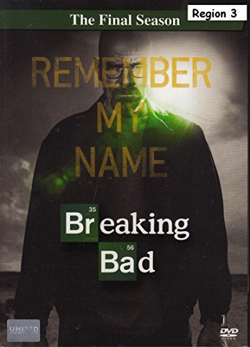 Breaking Bad: The Final Season (DVD Box Set 3 Disc)
