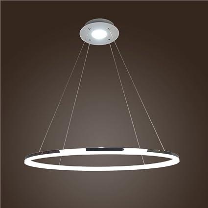 Homelava Lámpara Colgante LED iluminación Diámetro 60 cm para Salón, Comedor, Habitaciones ,Oficina, Luz Regulable