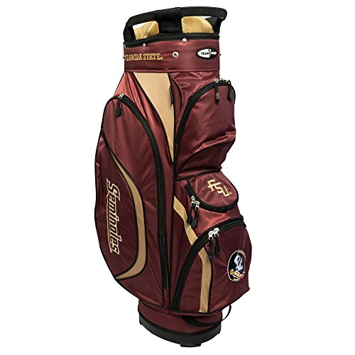 Florida State Golf Bag - Team Golf NCAA Clubhouse Cart Bag, Florida State