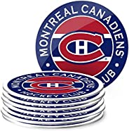 Mustang Products Montreal Canadiens 8 Pack Team Logo Coaster Set