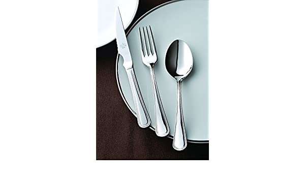 Amazon.com: idurgo Milan Ref. 19700 Cutlery Set, Stainless Steel: Home & Kitchen