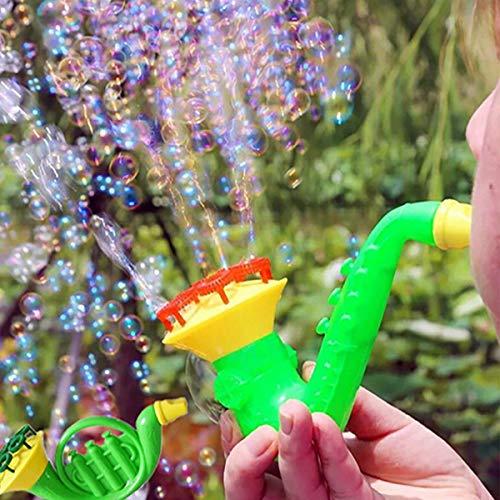 Kikole Children Water Bubble Blowing Blaster Toys, Kids Outdoor Bubble Gun Soap Bubble Blower(Random Type) from Kikole