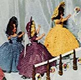 "WEDDING BRIDESMAID DOLL ~ A Vintage 1951 Dress Crochet Pattern for Duchess Dolls (or other 7""-8"" doll)"