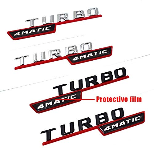 2pcs/lot Turbo Emblem For Amg Logo For Amg Emblem Logo For Mercedes Benz Amg Badge Decal Trunk Rear For mercedes AMG Stickers - (Color Name: 4) - - Amazon. ...