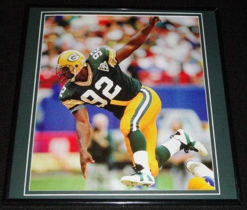 Reggie White Framed 12x12 Poster Photo Packers Minister of Defense