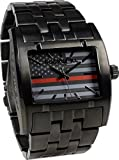Rockwell Time AP-Fire Apostle Dial Watch, Black/Red