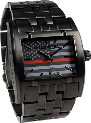 Rockwell Time AP-Fire Apostle Dial Watch, Black/Red by Rockwell Time