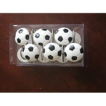 Exceptional Soccer Shower Curtain Hooks