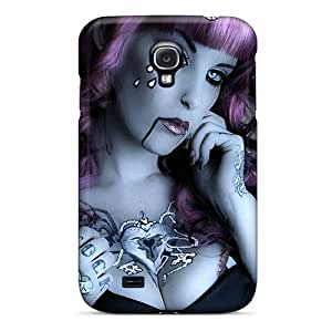 Premium Protection Pretty Goth Case Cover For Galaxy S4- Retail Packaging