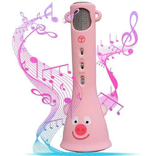Image Of The TOSING Wireless Karaoke Microphone Best Birthday Present For Girls 4 8 14