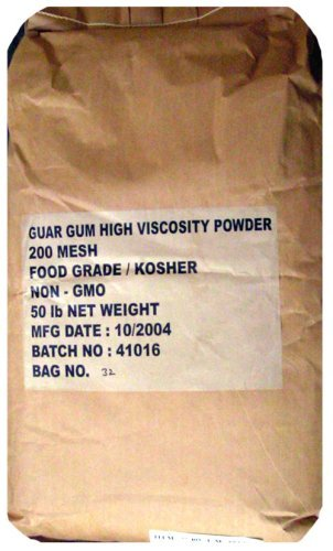 The Dirty Gardener 50 Pounds Guar Gum Powder by The Dirty Gardener