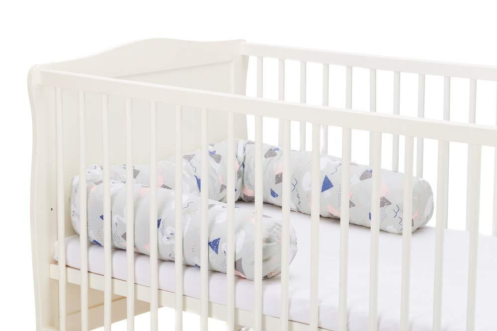 Fillikid bettnestchen 190 cm nestchenschlange für babybett