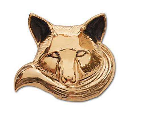 (Fox Door Knocker - Brass (Standard Size))