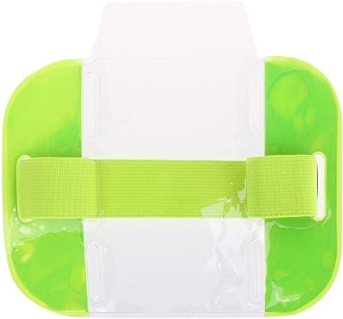 Brassard /élastique pour Carte de cr/édit Carte de cr/édit /étui Porte-Badge Photo Carte d/'identit/é