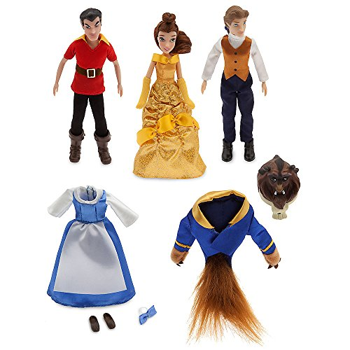 Gaston Beauty And The Beast Costume (Disney Beauty and the Beast Mini Doll Set)