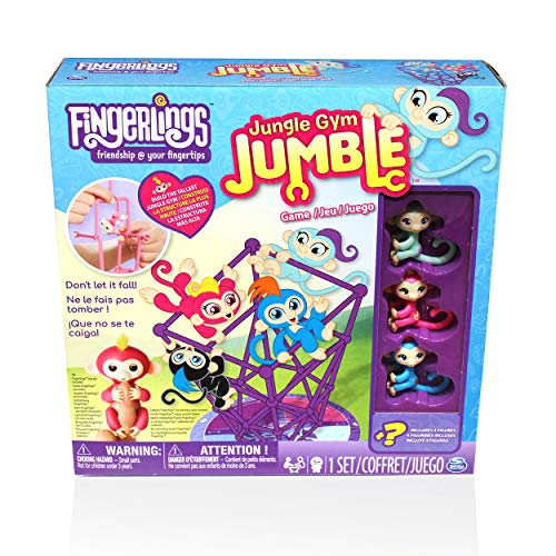 Cardinal Industries Fingerlings Jungle Gym Fingerlings Board Game