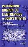 Patrimoine humain de l'entreprise et compétitivité par Barou