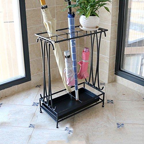 GX&XD Umbrella stands Rack Rain gear shelves Entryway hallway hotels Household use creative Floor Storage shelf-B 44x24x60cm(17x9x24) by GX&XD