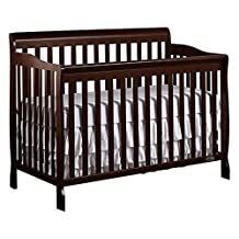 Dream On Me Ashton 5 in 1 Convertible Crib, Espresso