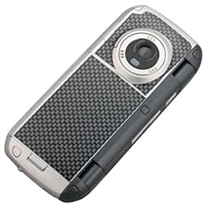 NEW CELLET BLACK CARBON FIBER DECAL SKIN TATTOO FOR VERIZON LG enV VX9900 PHONE