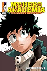 """Midoriya inherits the superpower of the world's greatest hero, but greatness won't come easy.What would the world be like if 80 percent of the population manifested superpowers called """"Quirks""""? Heroes and villains would be battling it out eve..."""