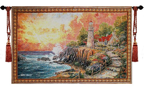 Used, Beautiful the Light of Peace Fine Tapestry Jacquard for sale  Delivered anywhere in USA