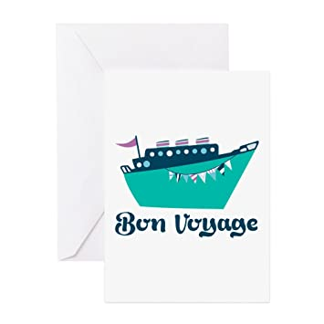 Amazon cafepress bon voyage greeting cards greeting card cafepress bon voyage greeting cards greeting card note card birthday card m4hsunfo