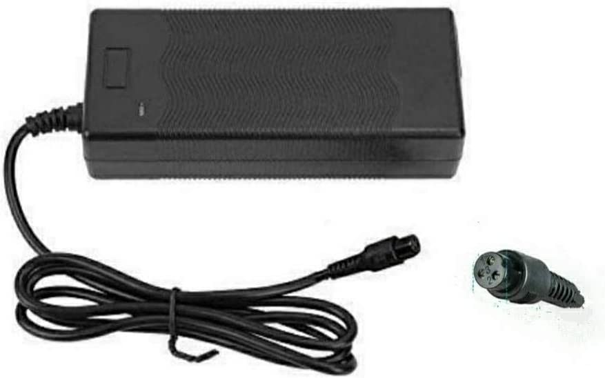 Cargador de batería 42V Adaptador de Corriente para Mini Smart Scooter Adaptador Universal de Cargador de batería Compatible con Hoverboard/Swagtron